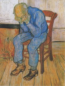 Van Gogh Depressed Man