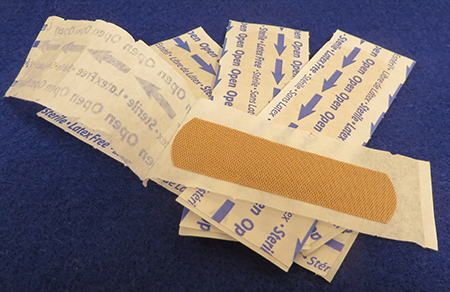 Wound care rehab for seniors can be caused by band aids